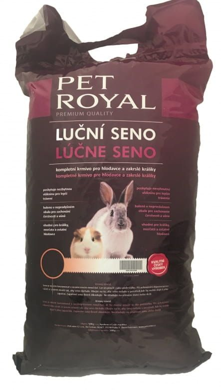 Pet Royal Luční seno