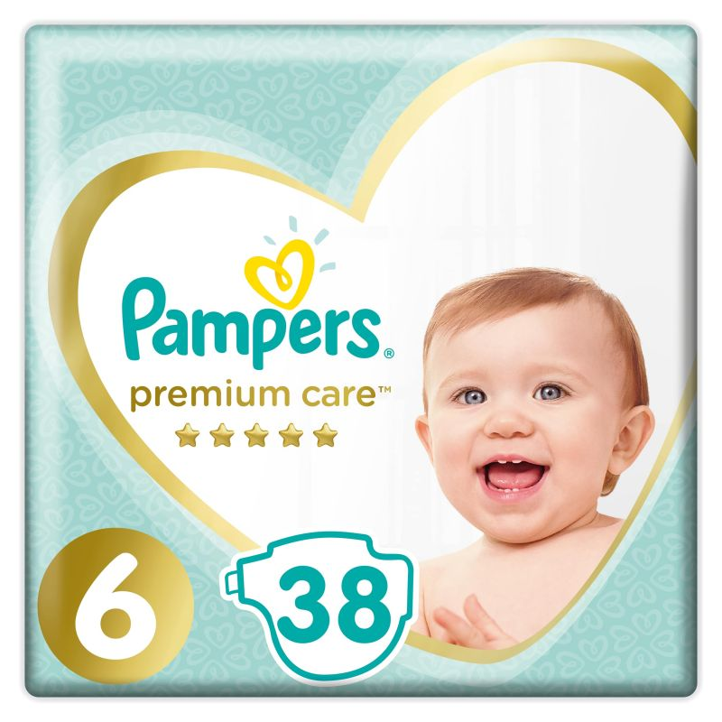 Pampers Premium Value Pack velikost 6 (13+ kg)