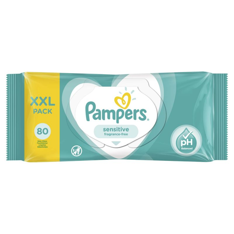 Pampers Wipes Sensitive XXL