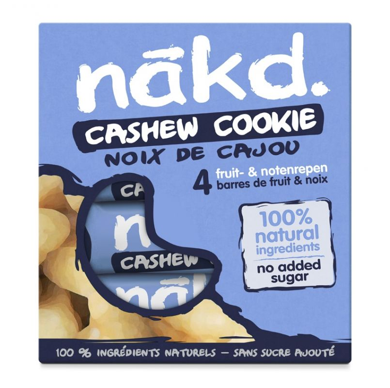 Nakd Cashew Cookie Multi pack 4x35g