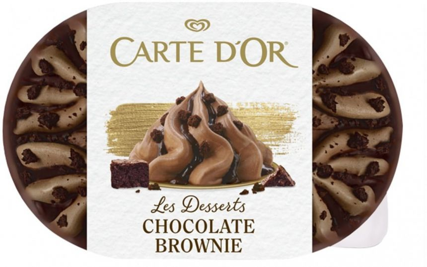 Carte d'Or Chocolate Brownie zmrzlina
