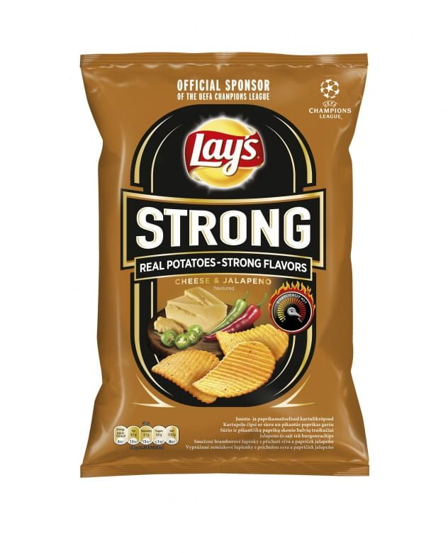 Lay's Strong Sýr a jalapeno