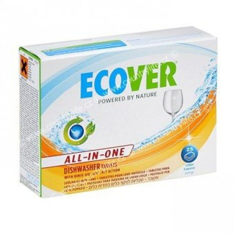 Ecover tablety do myčky - All in one 500g