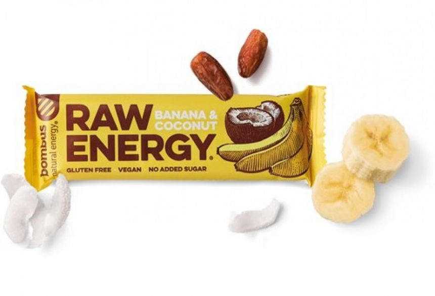 Bombus Raw Energy Banana & Coconut