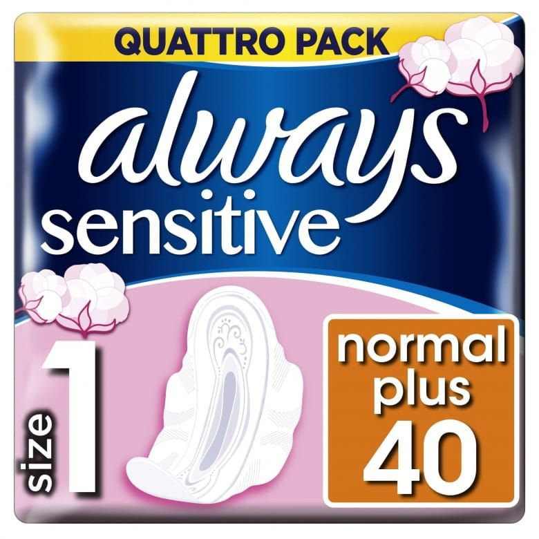 Always vložky Ultra Sensitive Normal Quatro