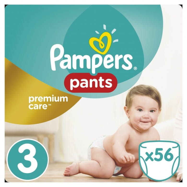 Pampers Pants Premium Value Pack (Velikost 3)