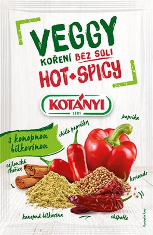 Kotányi Veggy Hot & Spicy koření bez soli