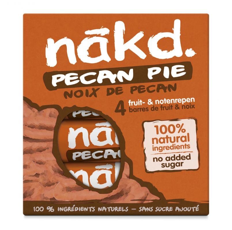 Nakd Pecan Pie Multi pack 4x35g