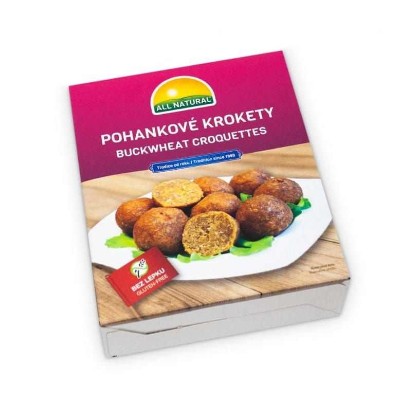 All Natural Pohankové krokety