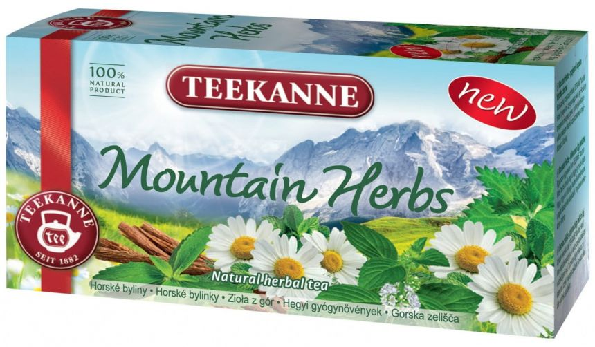 Teekanne Mountain Herbs 36g
