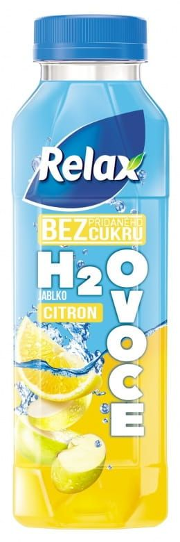 Relax H2Ovoce Citron PET