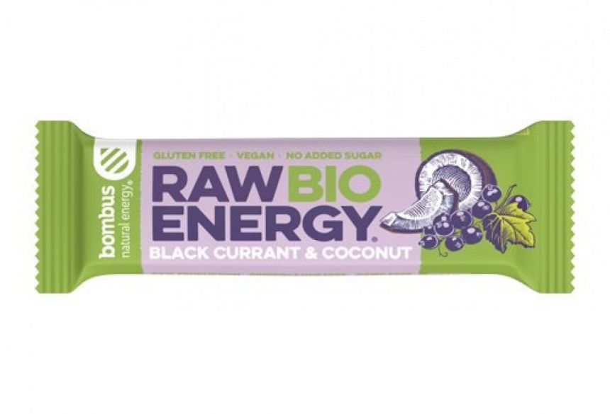 Bombus Raw Energy Bio Black Currant & Coconut