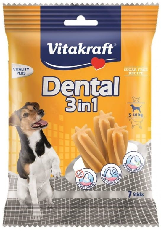 Vitakraft Dental sticks 3in1 small