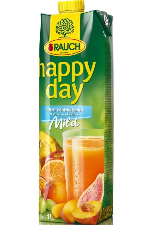 Rauch Happy Day Multivitamin Mild 100%