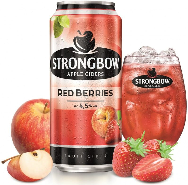 Strongbow Red Berries. plech