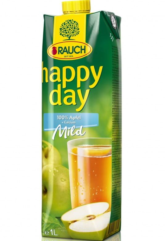 Rauch Happy Day Apple Mild 100%