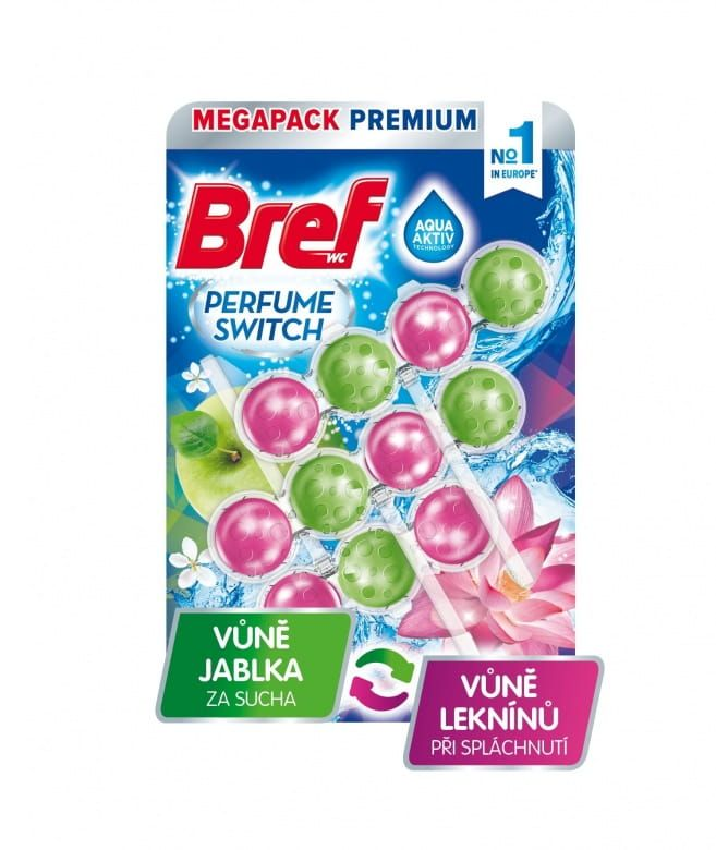 Bref Apple-Water Lily 3x50g