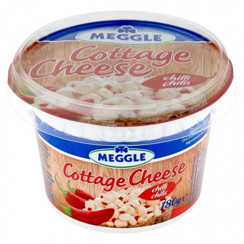 Meggle Cottage cheese čerstvý sýr chilli