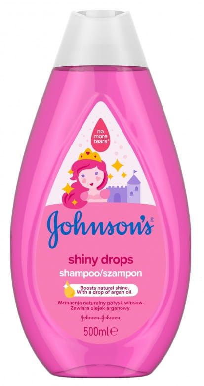 Johnson's Shiny Drops šampon