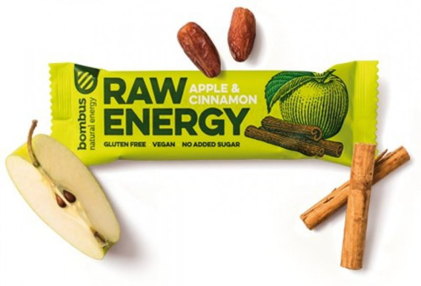 Bombus Raw Energy Apple & Cinnamon