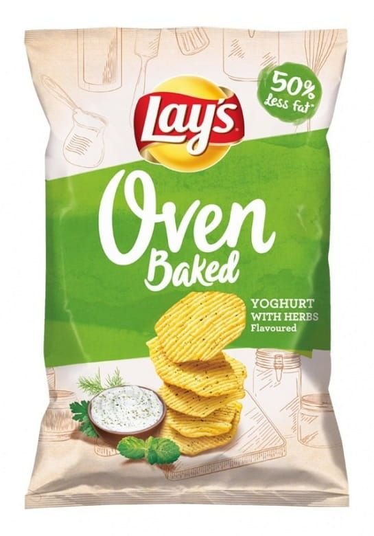 Lay's Oven Baked Yogurt&Herbs