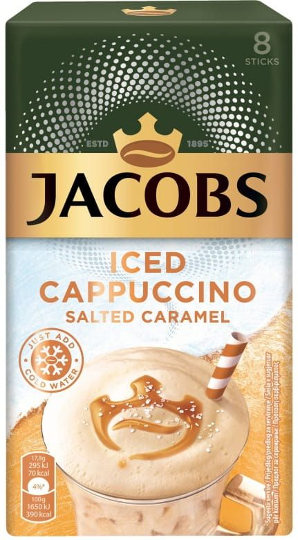 Jacobs Cappuccino Ice Salted Caramel