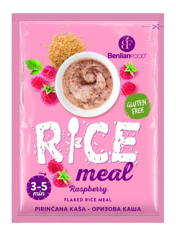 Benlian Food Rice Meal Raspberry