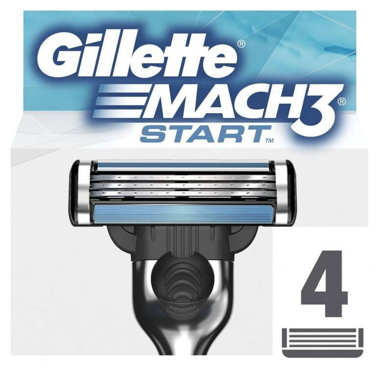 Gillette Mach3 Start holicí hlavice