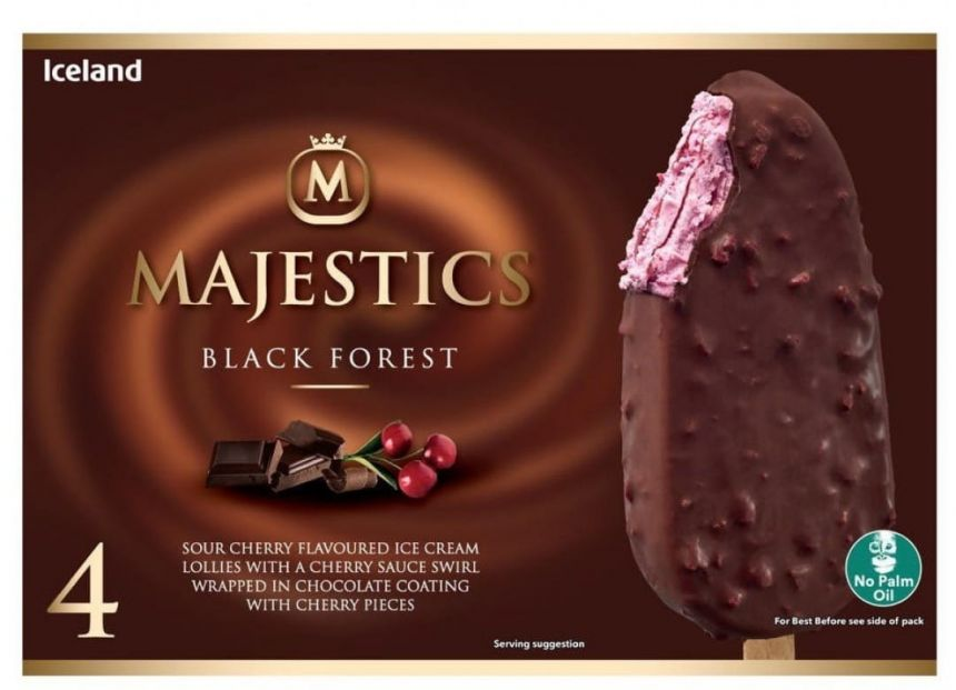 Iceland Majestic black forest nanuky (4ks)