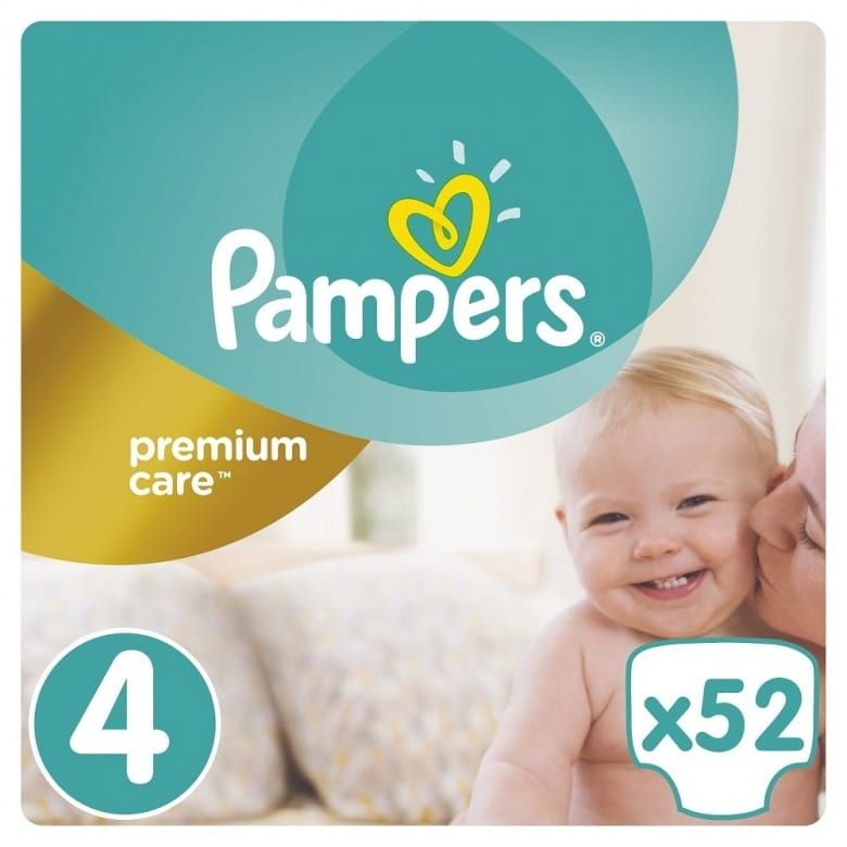 Pampers Premium Care Pleny 4 Maxi