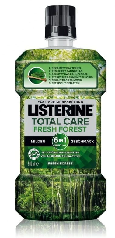 Listerine Total Care Fresh Forest ústní voda