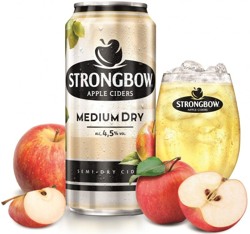 Strongbow Medium Dry. plech