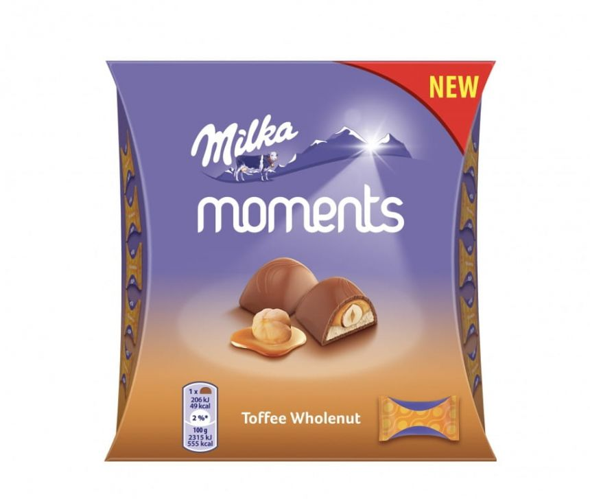 Milka Moments Mini Toffee Wholenut