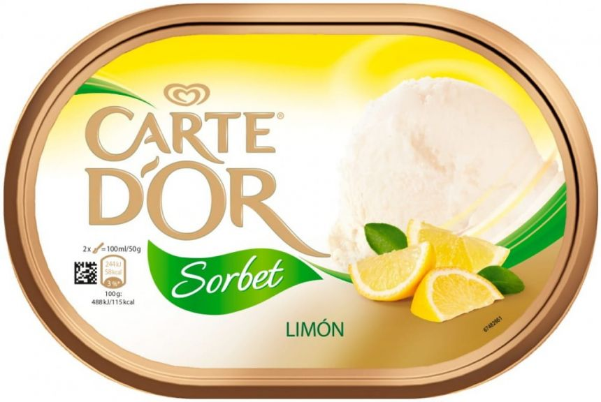 Carte d'Or Sorbet Limón