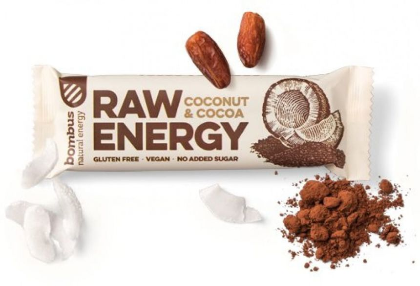 Bombus Raw Energy Coconut & Cocoa