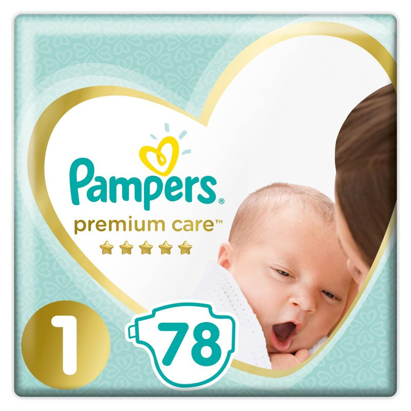 Pampers Premium Value Pack velikost 1 (2-5kg)