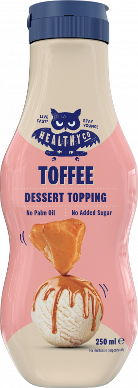 HealthyCo Dessert Topping toffee