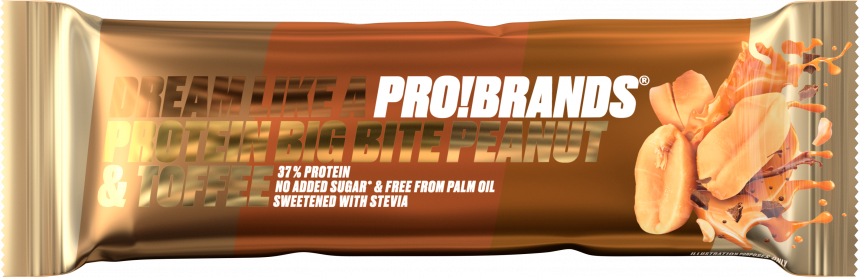 ProBrands Protein Big Bite 37% Peanut & Toffee