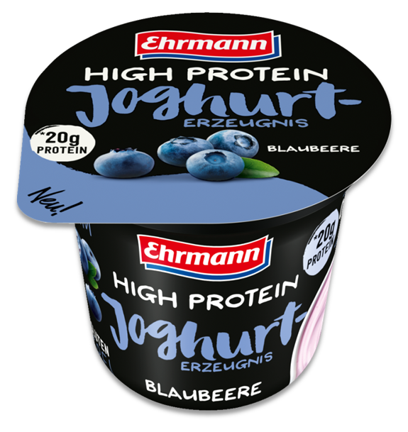 Ehrmann High Protein Jogurt Borůvka