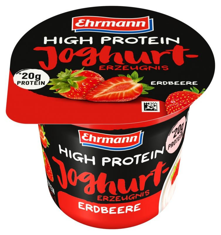 Ehrmann High Protein Jogurt Jahoda