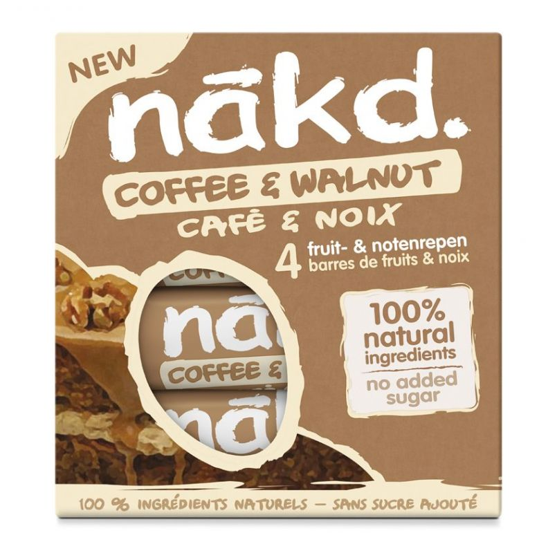 Nakd Coffee & Walnut Multi pack 4x35g